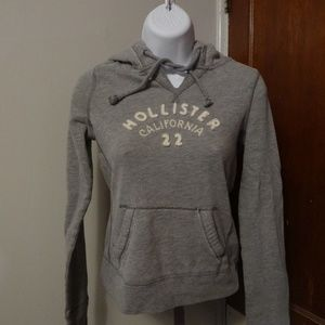 Hollister Hoodie Jr Size XS Gray Hollister